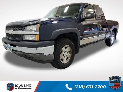 2005 Chevrolet Silverado 1500 for sale at Kal's Kars - TRUCKS in Wadena MN