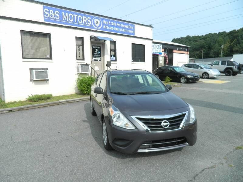 2015 Nissan Versa for sale at S & S Motors in Marietta GA