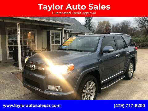 2013 Toyota 4Runner for sale at Taylor Auto Sales in Springdale AR