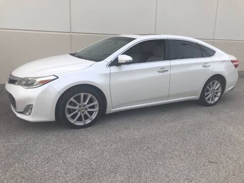 2013 Toyota Avalon for sale at Crowne Motors in Newton IA
