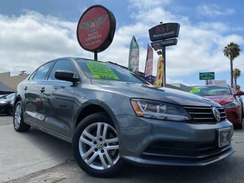 2017 Volkswagen Jetta for sale at Auto Express in Chula Vista CA