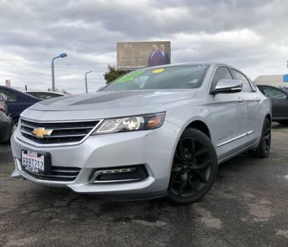 2018 Chevrolet Impala for sale at LUGO AUTO GROUP in Sacramento CA