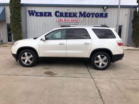 2012 GMC Acadia for sale at Weber Creek Motors in Corpus Christi TX