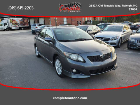 2009 Toyota Corolla for sale at Complete Auto Center , Inc in Raleigh NC