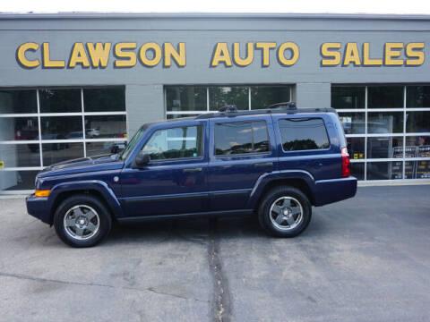 2006 Jeep Commander for sale at Clawson Auto Sales in Clawson MI