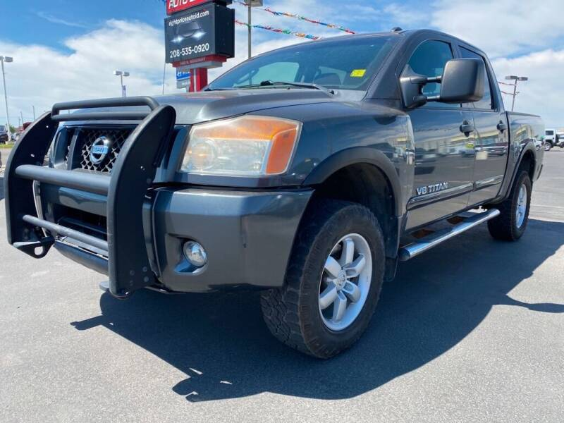 2011 Nissan Titan for sale at Right Price Auto in Idaho Falls ID