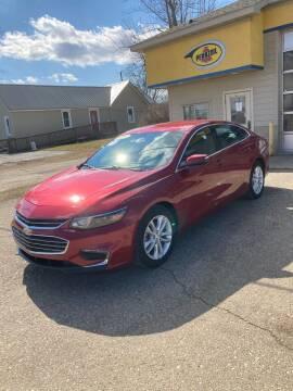 2016 Chevrolet Malibu for sale at Hines Auto Sales in Marlette MI