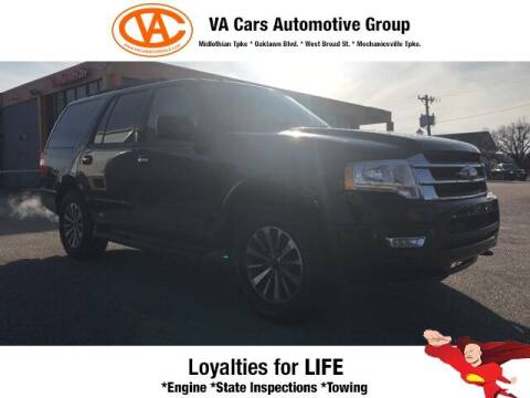 2015 Ford Expedition for sale at VA Cars Inc in Richmond VA