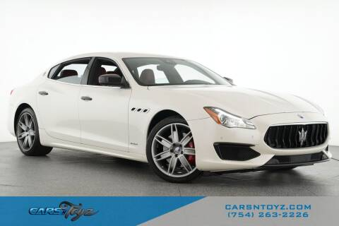 2017 Maserati Quattroporte for sale at JumboAutoGroup.com - Carsntoyz.com in Hollywood FL