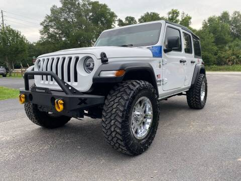 2020 Jeep Wrangler Unlimited for sale at Gator Truck Center of Ocala in Ocala FL