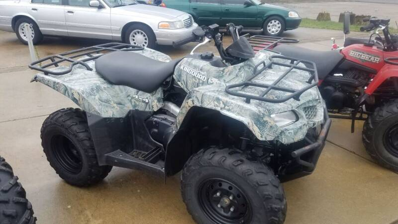 2011 Suzuki Kingquad 400 ASi for sale at Arkansas Wholesale Auto Sales in Hot Springs AR