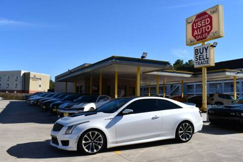 2016 Cadillac ATS-V for sale at Houston Used Auto Sales in Houston TX
