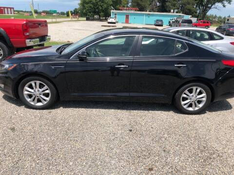 2013 Kia Optima for sale at LYNDON MOTORS in Lyndon KS
