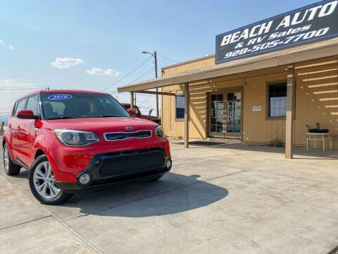 2016 Kia Soul for sale at Beach Auto and RV Sales in Lake Havasu City AZ