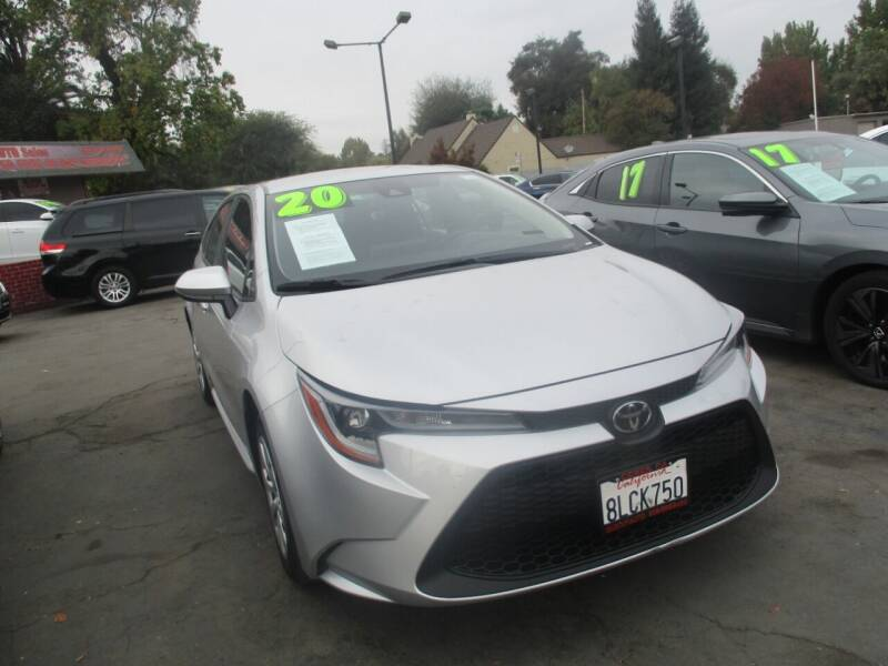2020 Toyota Corolla for sale at Quick Auto Sales in Modesto CA