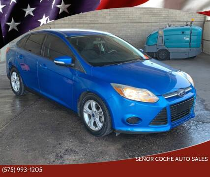 2014 Ford Focus for sale at Senor Coche Auto Sales in Las Cruces NM