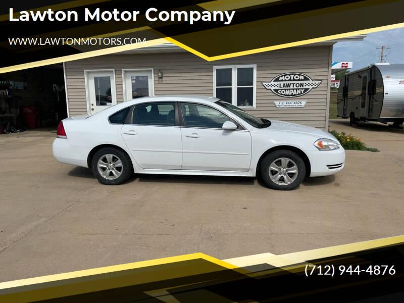 2013 Chevrolet Impala for sale at Lawton Motor Company in Lawton IA