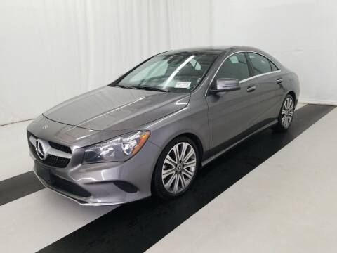 2018 Mercedes-Benz CLA for sale at Paradise Motor Sports LLC in Lexington KY