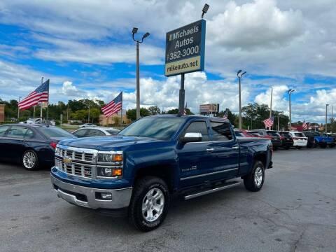 2015 Chevrolet Silverado 1500 for sale at Michaels Autos in Orlando FL