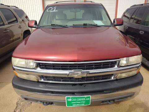 2001 Chevrolet Tahoe for sale at 4 B CAR CORNER in Anadarko OK