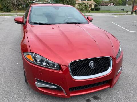 2013 Jaguar XF for sale at Consumer Auto Credit in Tampa FL