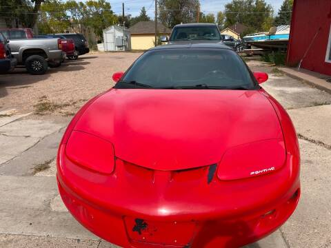 2001 Pontiac Firebird for sale at PYRAMID MOTORS AUTO SALES in Florence CO