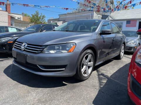 2013 Volkswagen Passat for sale at Cypress Motors of Ridgewood in Ridgewood NY