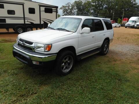 2002 Toyota 4Runner for sale at Cooper's Wholesale Cars in West Point MS