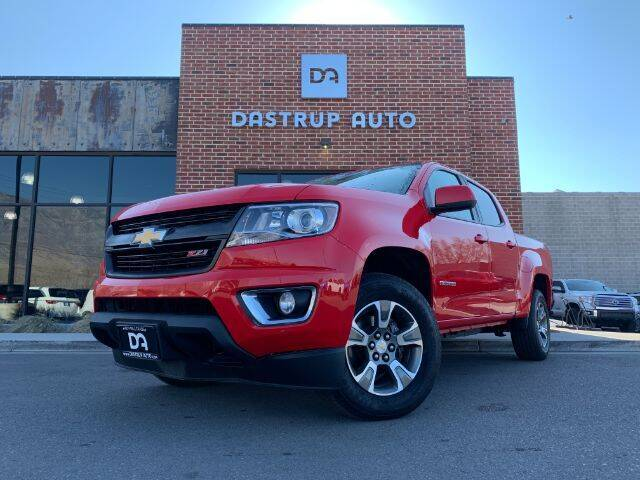 2017 Chevrolet Colorado for sale at Dastrup Auto in Lindon UT