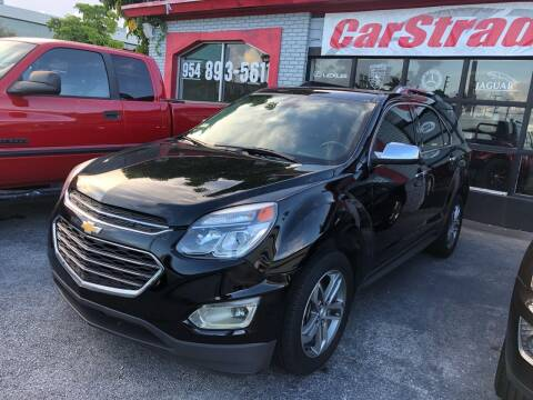2016 Chevrolet Equinox for sale at CARSTRADA in Hollywood FL