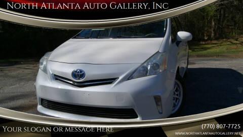 2012 Toyota Prius v for sale at North Atlanta Auto Gallery, Inc in Alpharetta GA