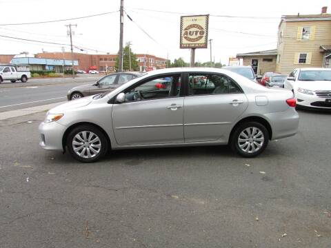 2012 Toyota Corolla for sale at Nutmeg Auto Wholesalers Inc in East Hartford CT