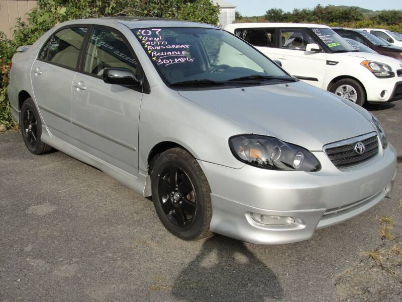 2007 Toyota Corolla for sale at Turnpike Auto Sales LLC in East Springfield NY