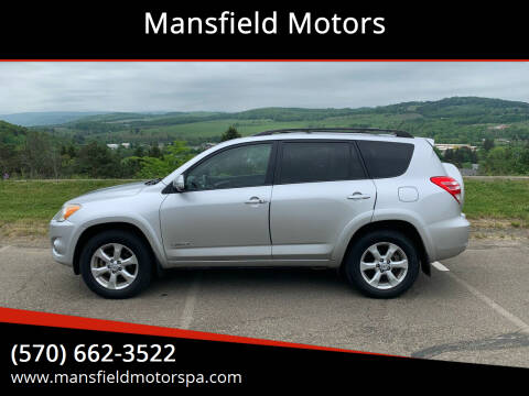 2009 Toyota RAV4 for sale at Mansfield Motors in Mansfield PA