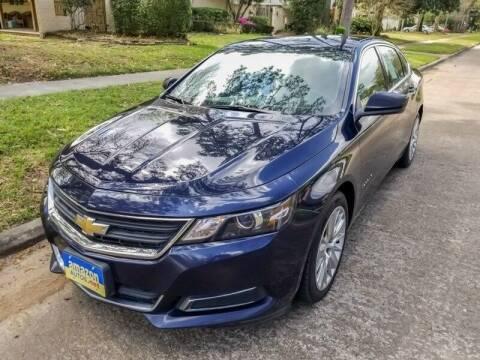 2016 Chevrolet Impala for sale at Amazon Autos in Houston TX