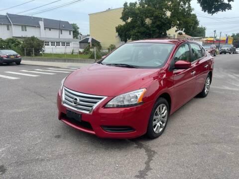 2013 Nissan Sentra for sale at Kapos Auto, Inc. in Ridgewood NY