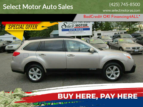 2014 Subaru Outback for sale at Select Motor Auto Sales in Lynnwood WA