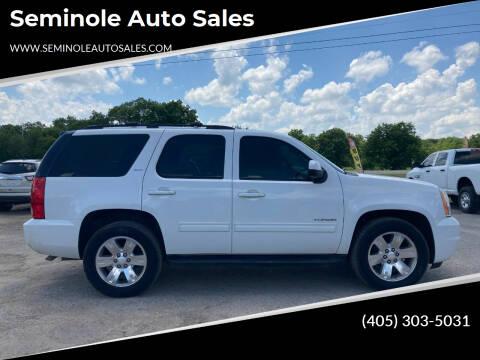 2012 GMC Yukon for sale at Seminole Auto Sales in Seminole OK