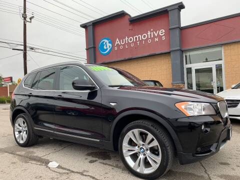 2013 BMW X3 for sale at Automotive Solutions in Louisville KY