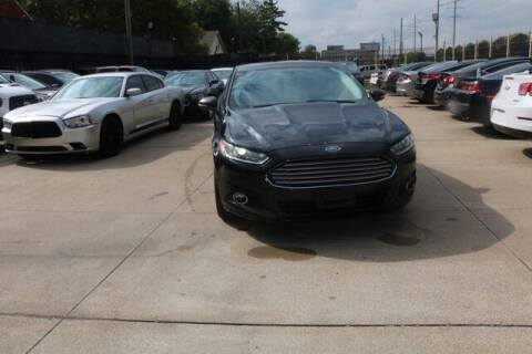 2014 Ford Fusion for sale at F & M AUTO SALES in Detroit MI