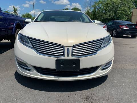 2013 Lincoln MKZ for sale at Virginia Auto Mall in Woodford VA
