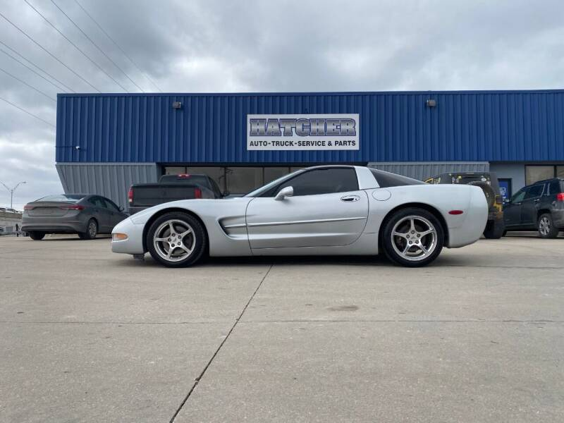 2000 Chevrolet Corvette for sale at HATCHER MOBILE SERVICES & SALES in Omaha NE
