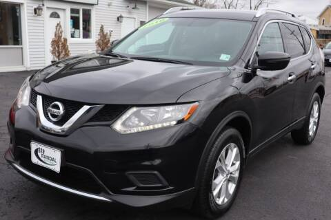 2016 Nissan Rogue for sale at Randal Auto Sales in Eastampton NJ