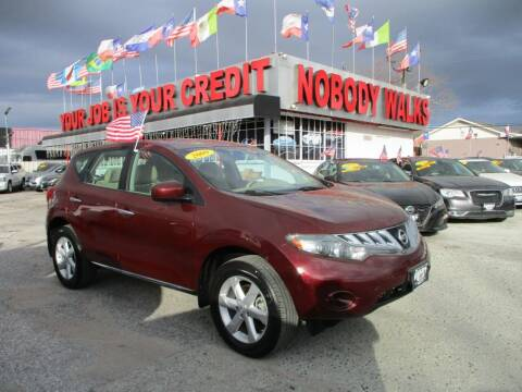 2009 Nissan Murano for sale at Giant Auto Mart 2 in Houston TX