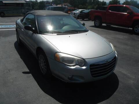 2004 Chrysler Sebring for sale at Morelock Motors INC in Maryville TN