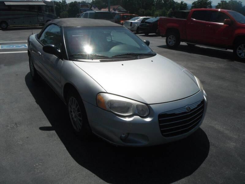 2004 Chrysler Sebring for sale at Morelock Motors INC in Maryville TN