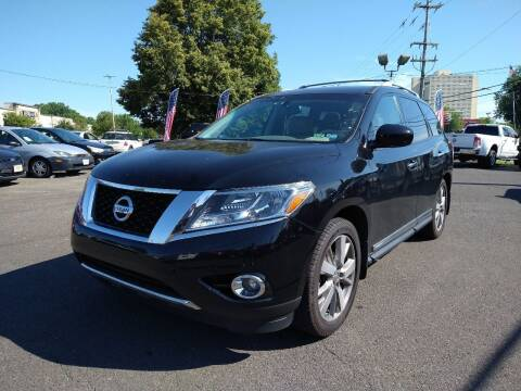 2013 Nissan Pathfinder for sale at P J McCafferty Inc in Langhorne PA