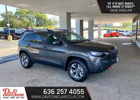 2019 Jeep Cherokee for sale at Dave Sinclair Chrysler Dodge Jeep Ram in Pacific MO