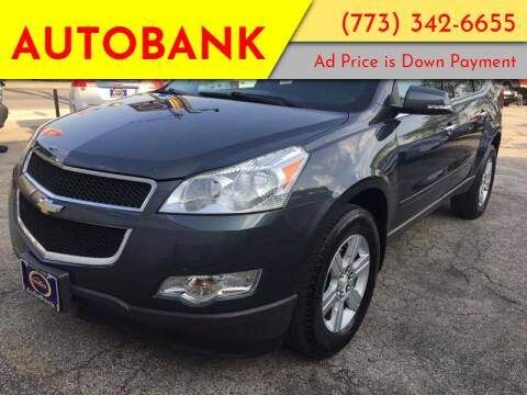 2011 Chevrolet Traverse for sale at AutoBank in Chicago IL
