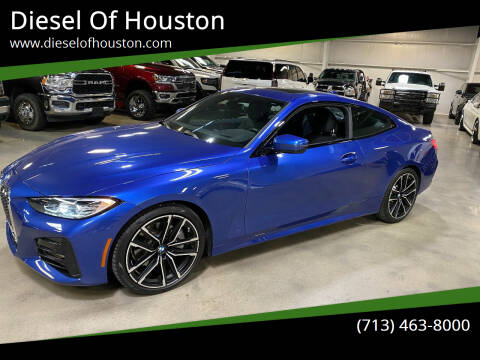 2021 BMW 4 Series for sale at Diesel Of Houston in Houston TX